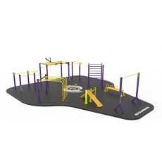 STREET WORKOUT Parc 160 m², Workout Large Park