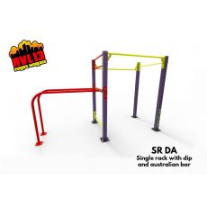 Single Rack et Dip Parc 44 m², Street Workout