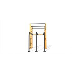 Single Rack Dip et échelle Parc 44 m², Street Workout