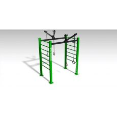 Double ring Parc 20 m² Street Workout  BSA PRO