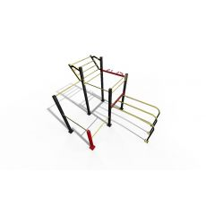 Double rack DDWM parc 42 m², Street Workout