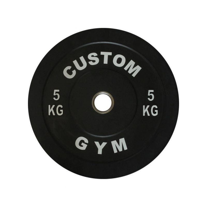 Bumper plate 5 kg CUSTOM GYM Disques cross training