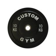 Bumper plate 10 kg CUSTOM GYM, Disques cross training