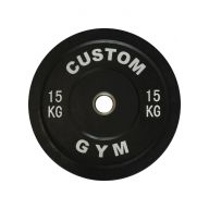 Bumper plate 15 kg CUSTOM GYM Disques cross training