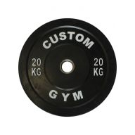 Bumper plate 20 kg CUSTOM GYM Disques cross training