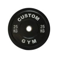 Bumper plate 25 kg CUSTOM GYM Disques cross training