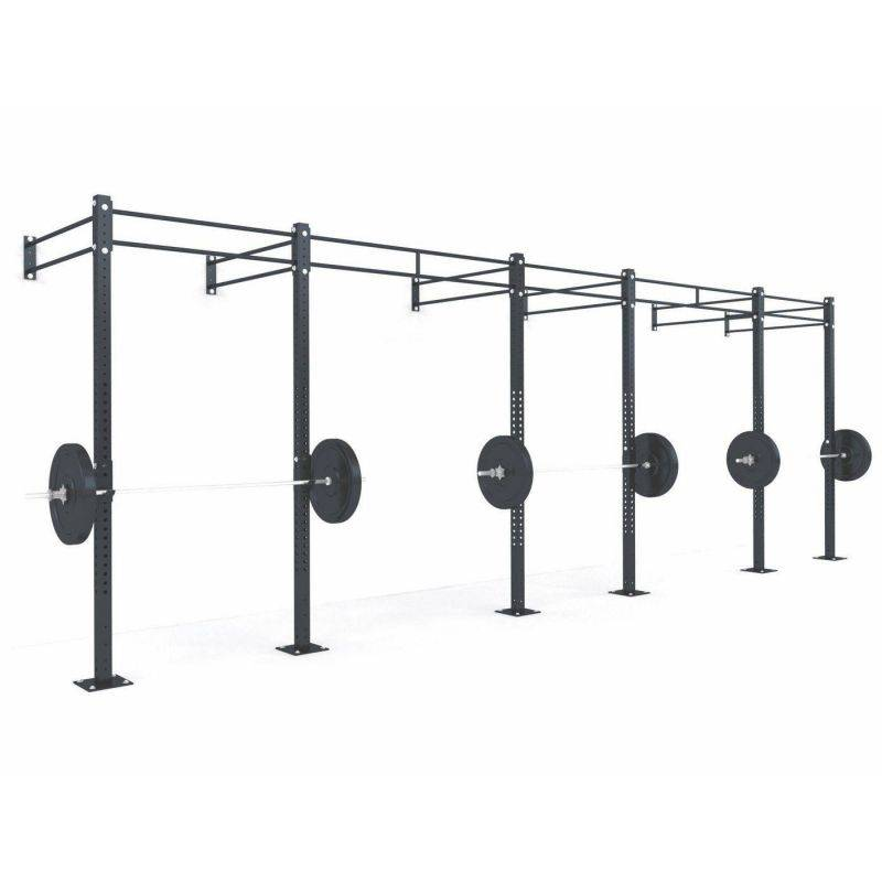 Cage cross training murale 6.90 x 1.72 x 2.75 m Cages Cross training murales