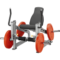 Leg extension Plate Load, Postes leverage