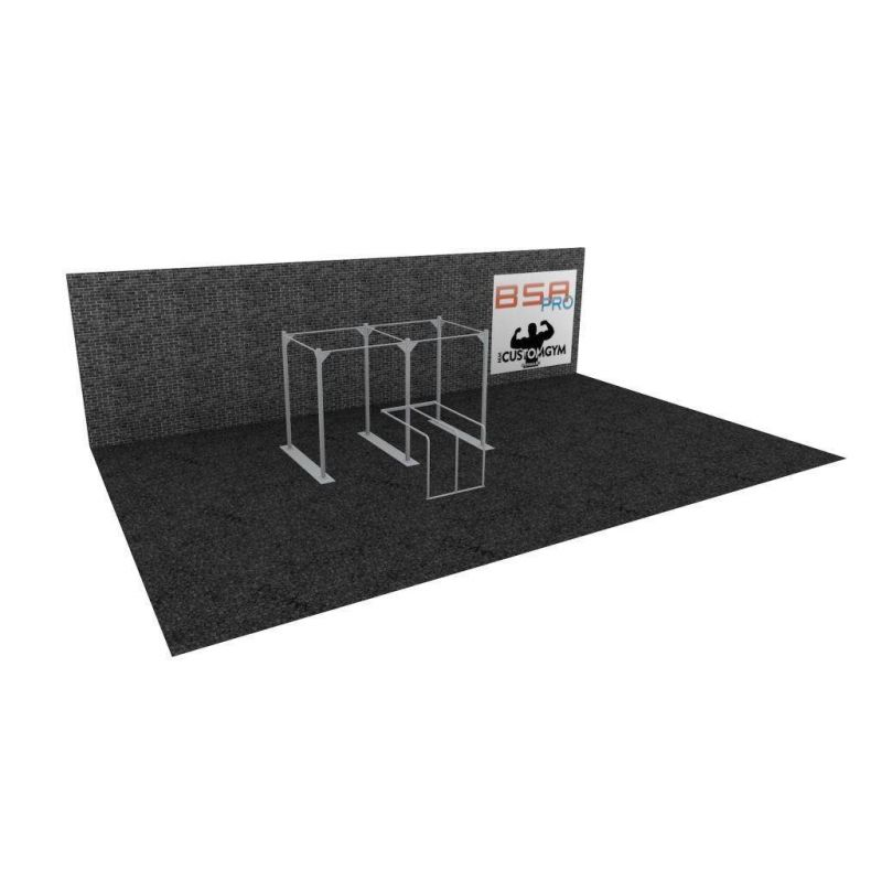 Cage Cross Training Dip Station CUSTOM GYM DS01, BSA cages Cross Training