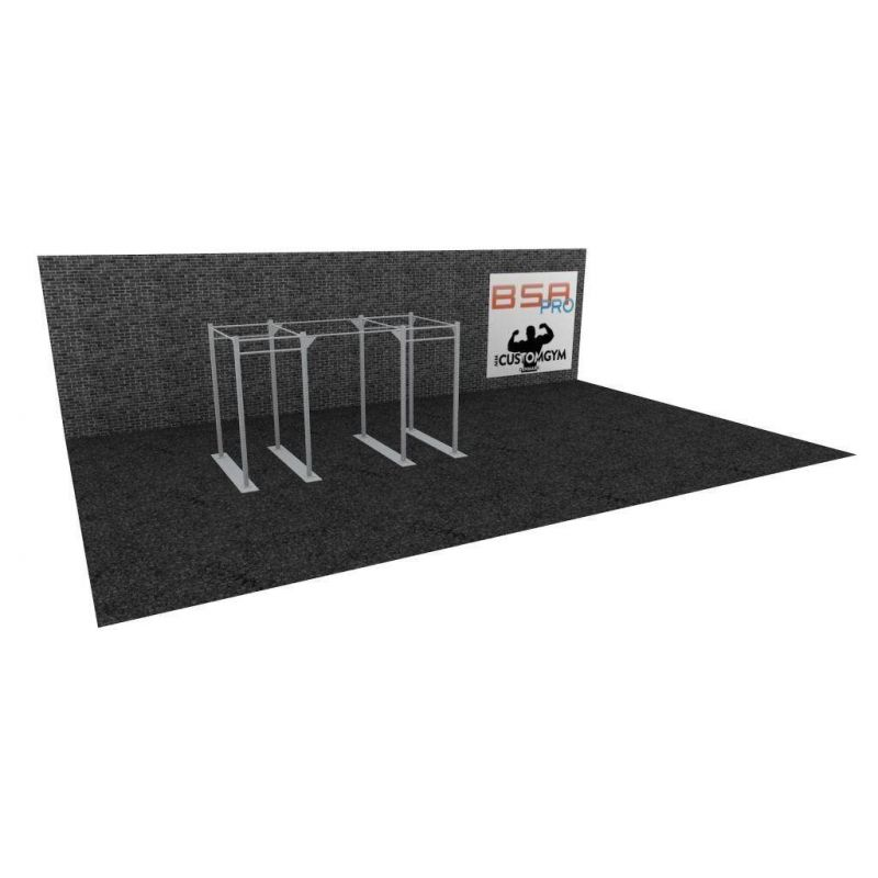 Cage Cross Training Double Rack CUSTOM GYM DR01, BSA cages Cross Training