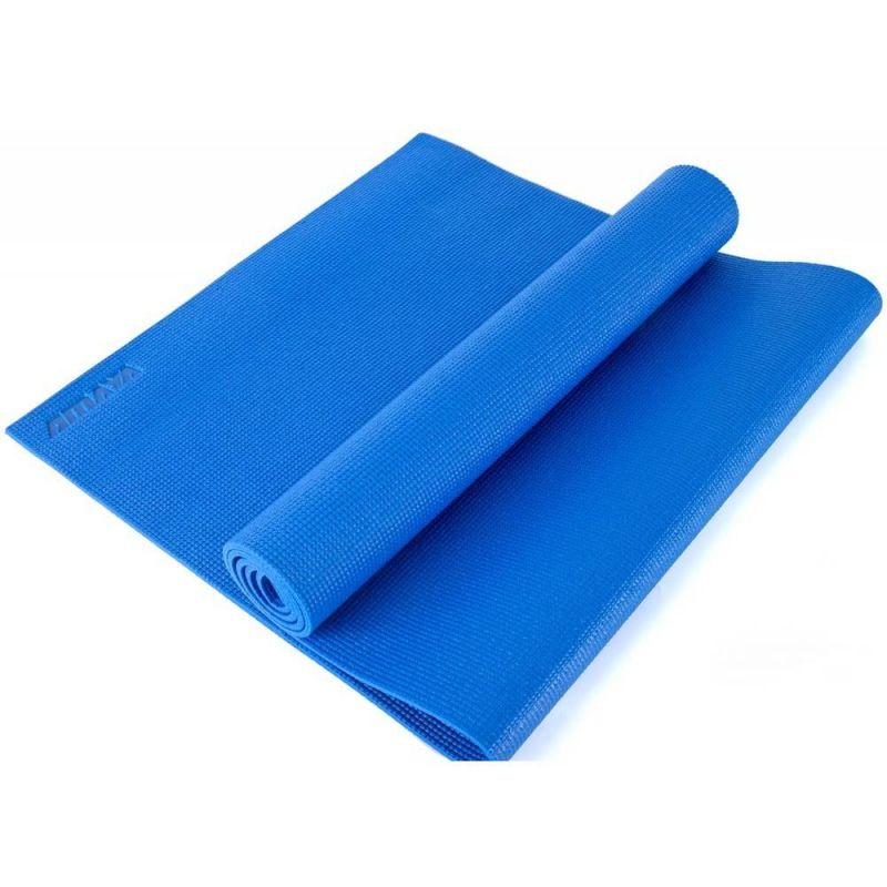 Tapis de Yoga Eco Friendly bleu 180 cm, Tapis Yoga