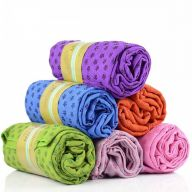 Serviette de Yoga rose