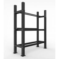Rack multi storage 3 plateaux, Racks de Cross Training