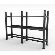 Rack multi storage 6 plateaux, Racks de Cross Training