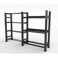 Rack multi storage 7 plateaux, Racks de Cross Training