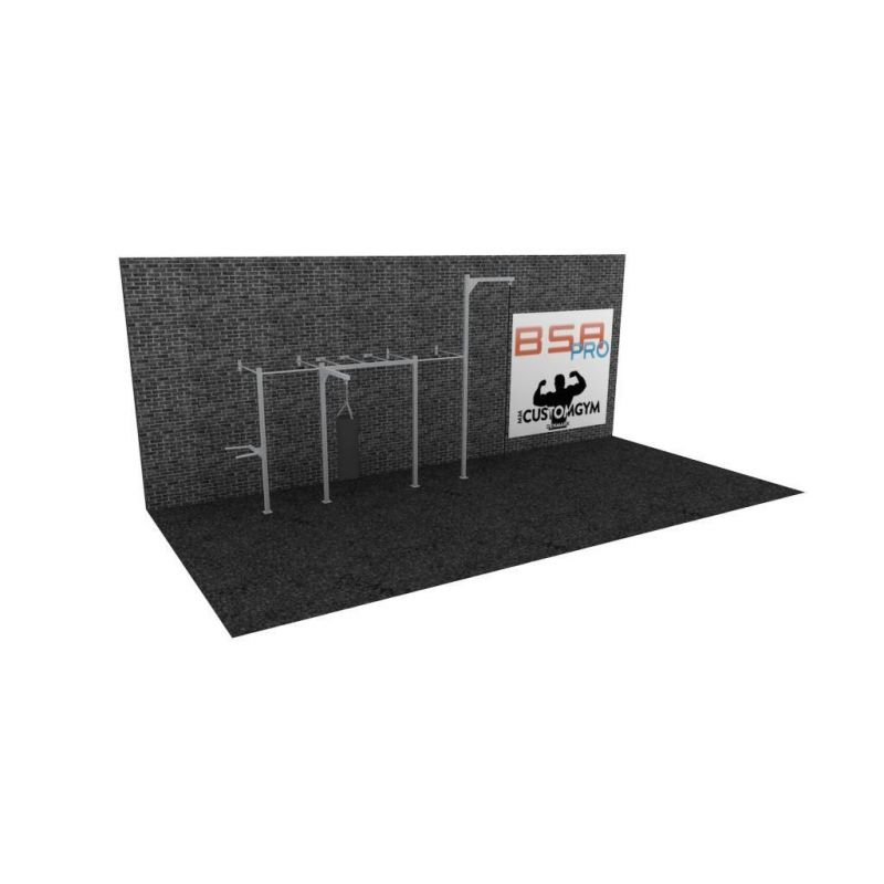 Cage Cross Training Wall CUSTOM GYM W05, BSA cages Cross Training