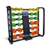 Ensemble 25 sets pump orange et rack