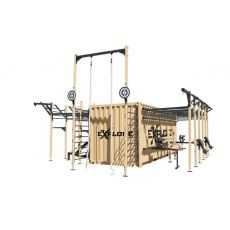 Container Gym box, Container Stations