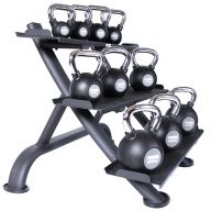 Support pour Kettlebell 3 plateaux