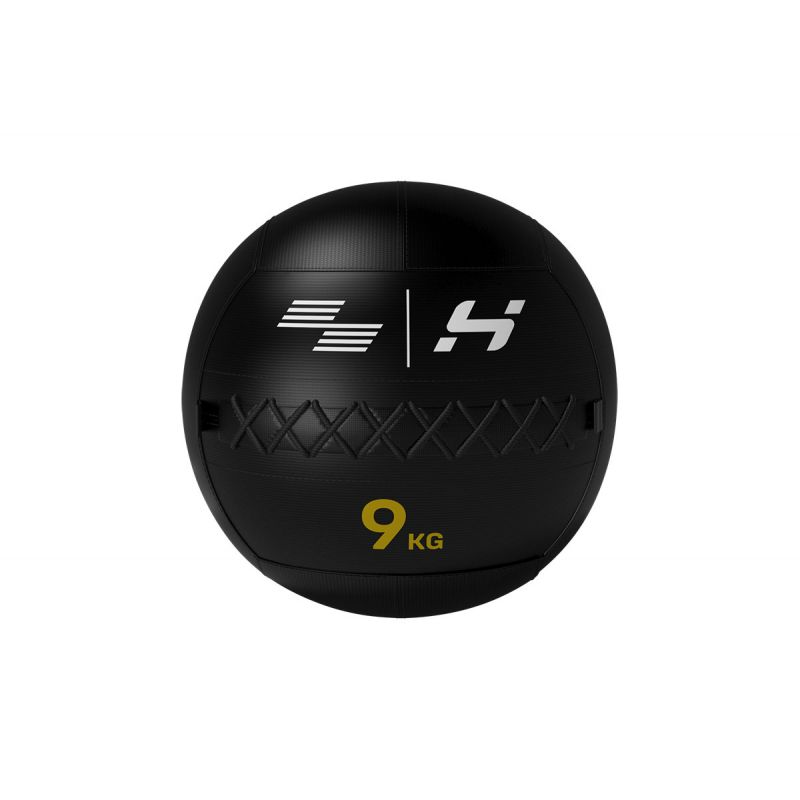 Wall Ball 9 kg Elite black serie, Wall ball