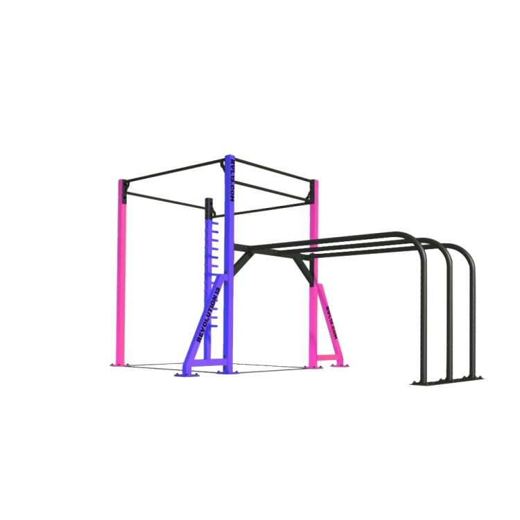 Cage Mobile Street Workout - Structure professionnel Street Workout - Equipement Outdoor