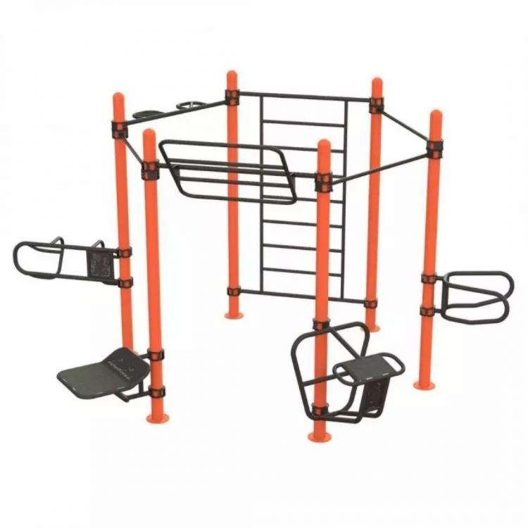 Cage Functional Training Extérieur - Structure professionnel Functional Training Outdoor - Equipement Plein Air